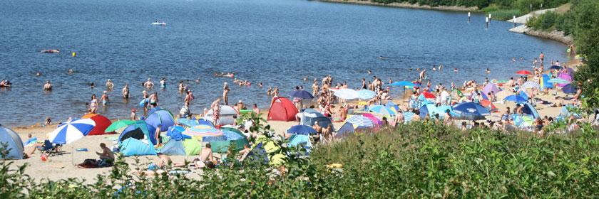 Hochsaison am Senftenberger See