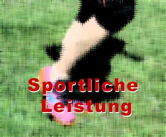 Sportliche Leistung