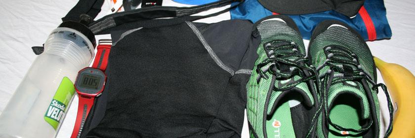 Sporttasche packen