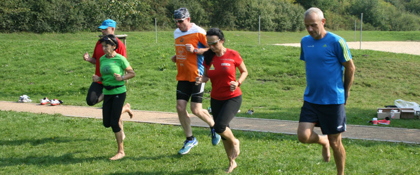 Sportlich beim Laufcamp in Senftenberg