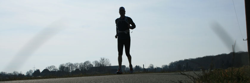 Laufen im Frühling