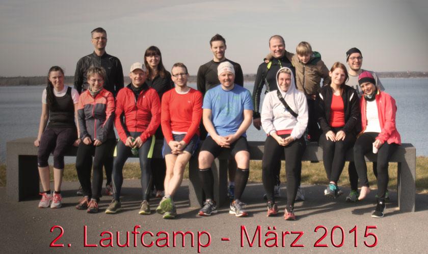Laufen total Laufcamp im März 2015