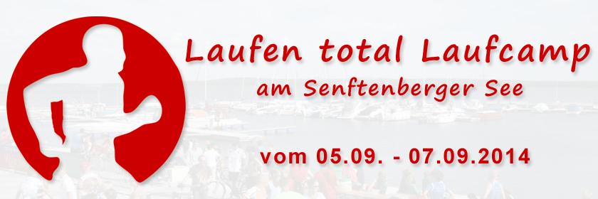 Laufen total Laufcamp am Senftenberger See
