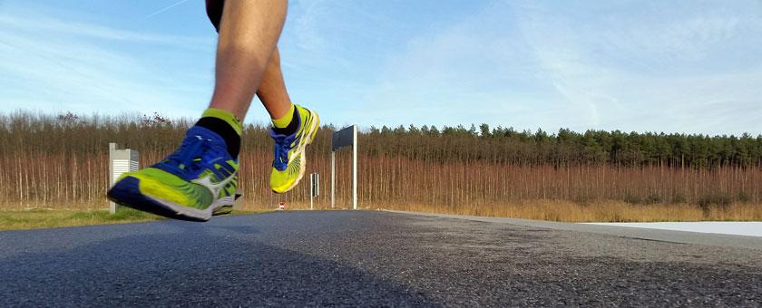 Mit Laufen anfangen