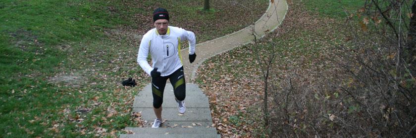 Ausfallschritte Treppe