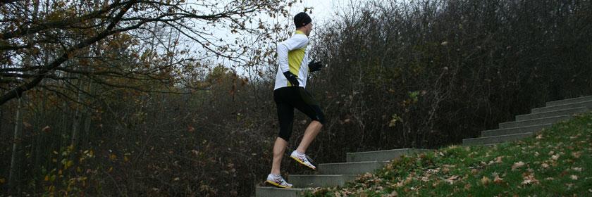 Treppentraining kurz und schnell