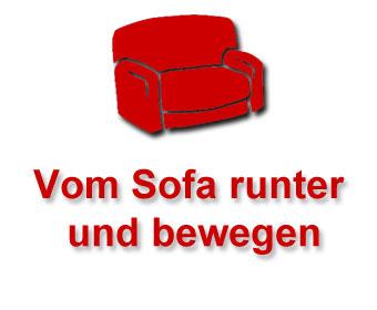 Vom Sofa runter