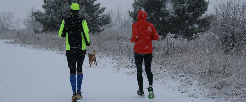 Laufen am Tag 27