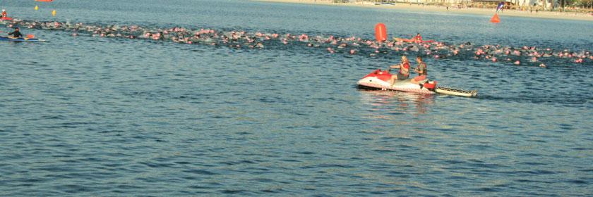 Schwimmen am Tag 17