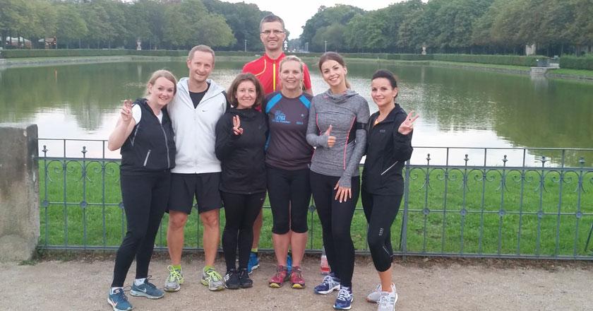Laufen total Laufkurs im Großen Garten in Dresden
