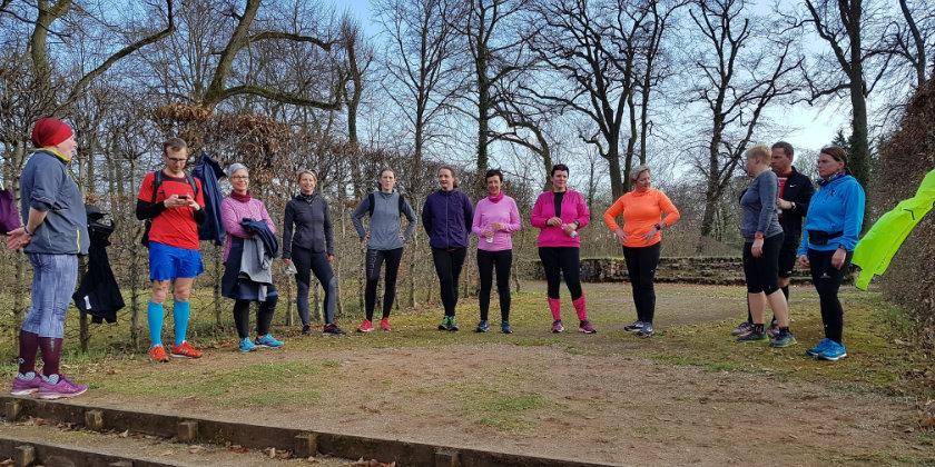 Laufen total Laufcamp für Frauen in Rheinsberg