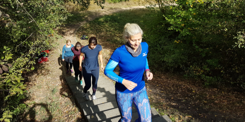Laufen total Laufwochenende Senftenberg